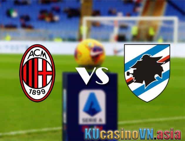 AC Milan vs Sampdoria, 3/4/2021 - Giải VĐQG Ý [Serie A]