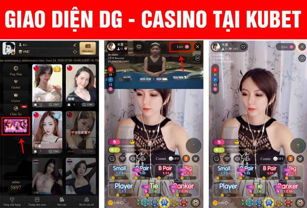 giao diện live stream dg casino, dg casino live stream, live casino dg casino