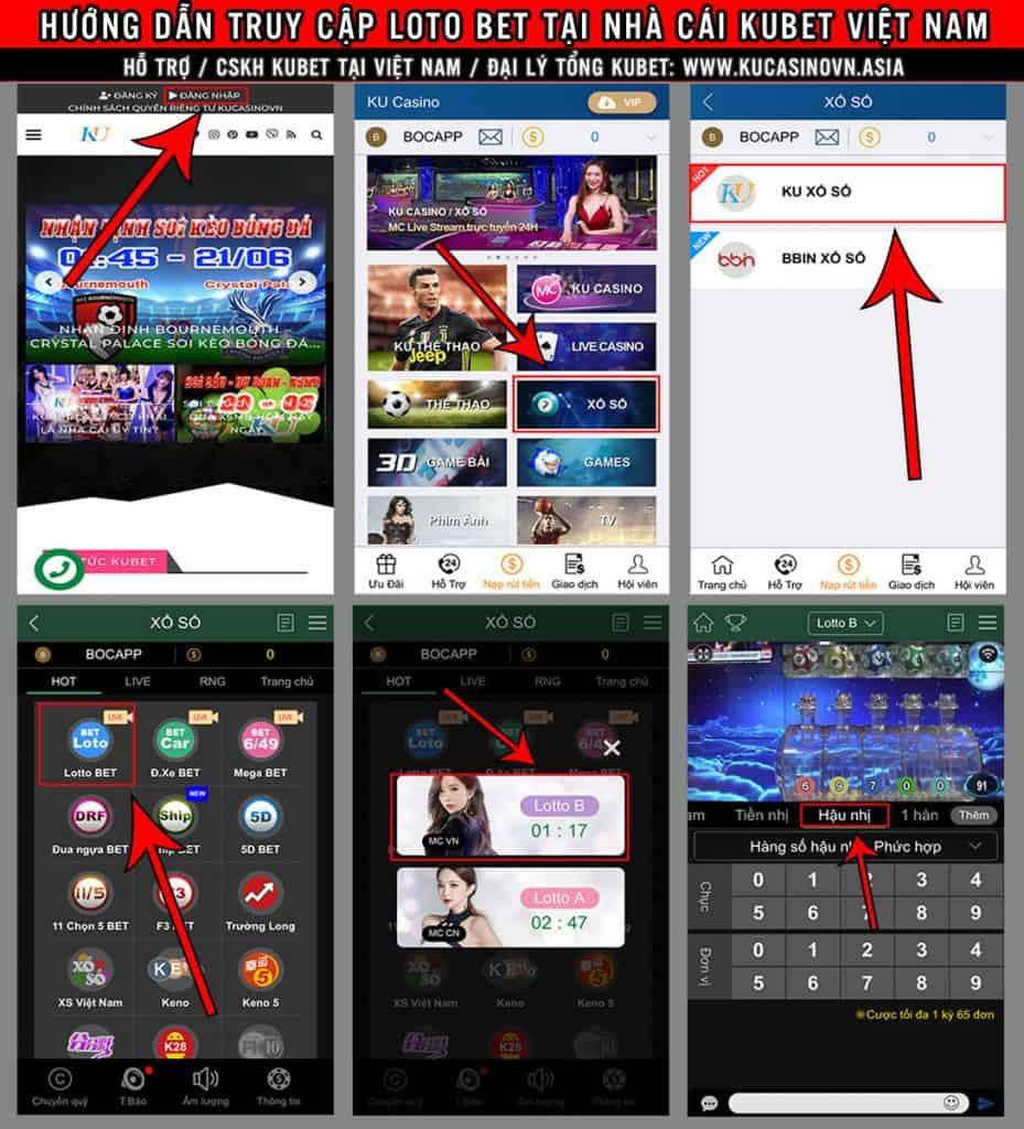 loto bet mobile, loto bet trên điện thoại, loto bet kubet
