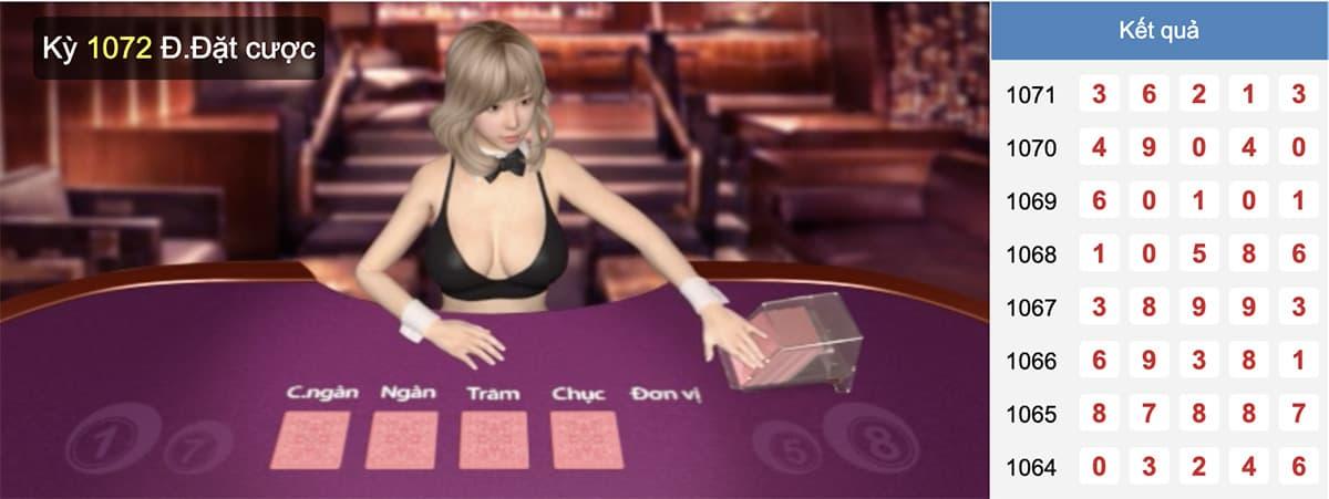 hình ảnh bàn chơi trên kubet