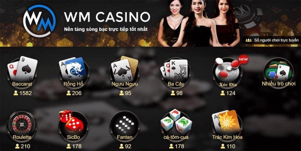 game tại sảnh wm casino, game wm casino, wm casino