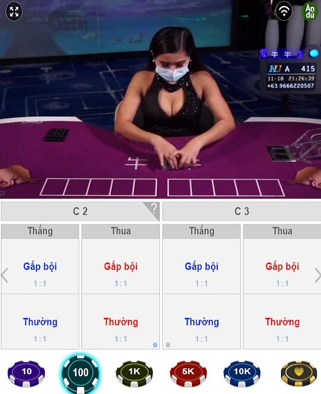 giao diện ngầu hầm online trên ku casino