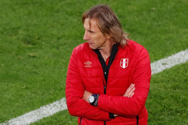 Huấn luyện viên đội tuyển Peru Ricardo Gareca