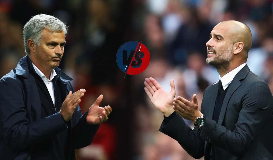 Jose Mourinho và Pep Guardiola