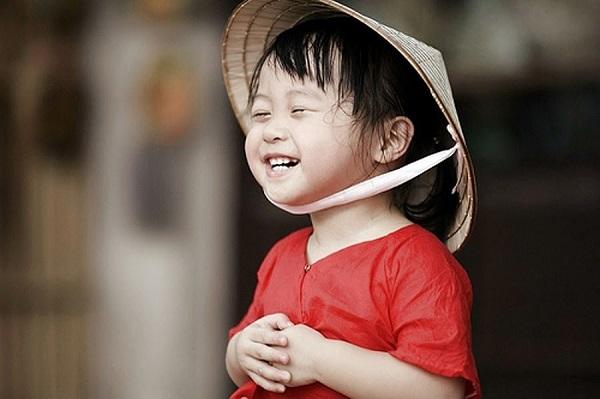 Trẻ em mơ được cười