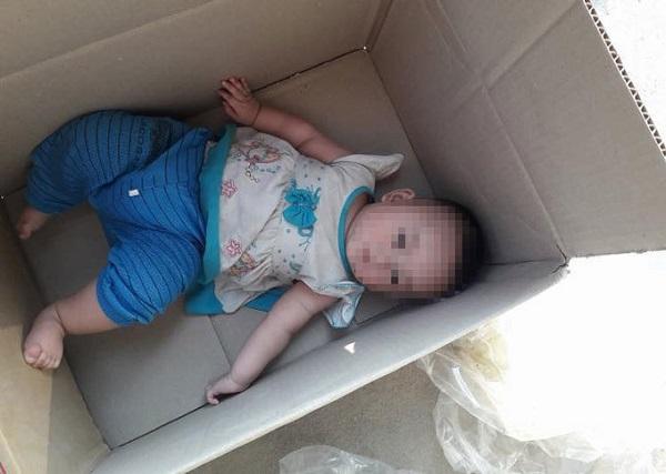 Em bé bị bỏ rơi