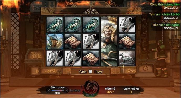Cờ đam mỹ của Trương Phi trong game Tam Quốc Chí