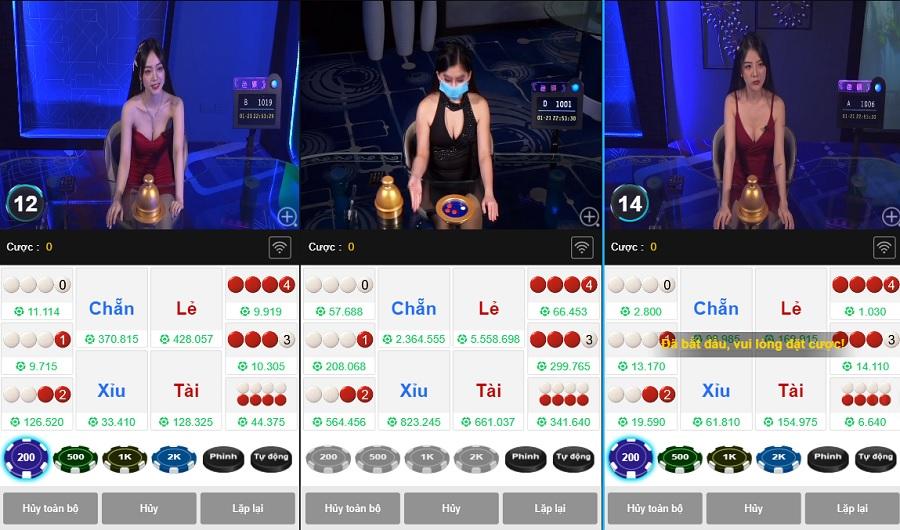 Tham gia một hoặc nhiều trò chơi trong Kucasino