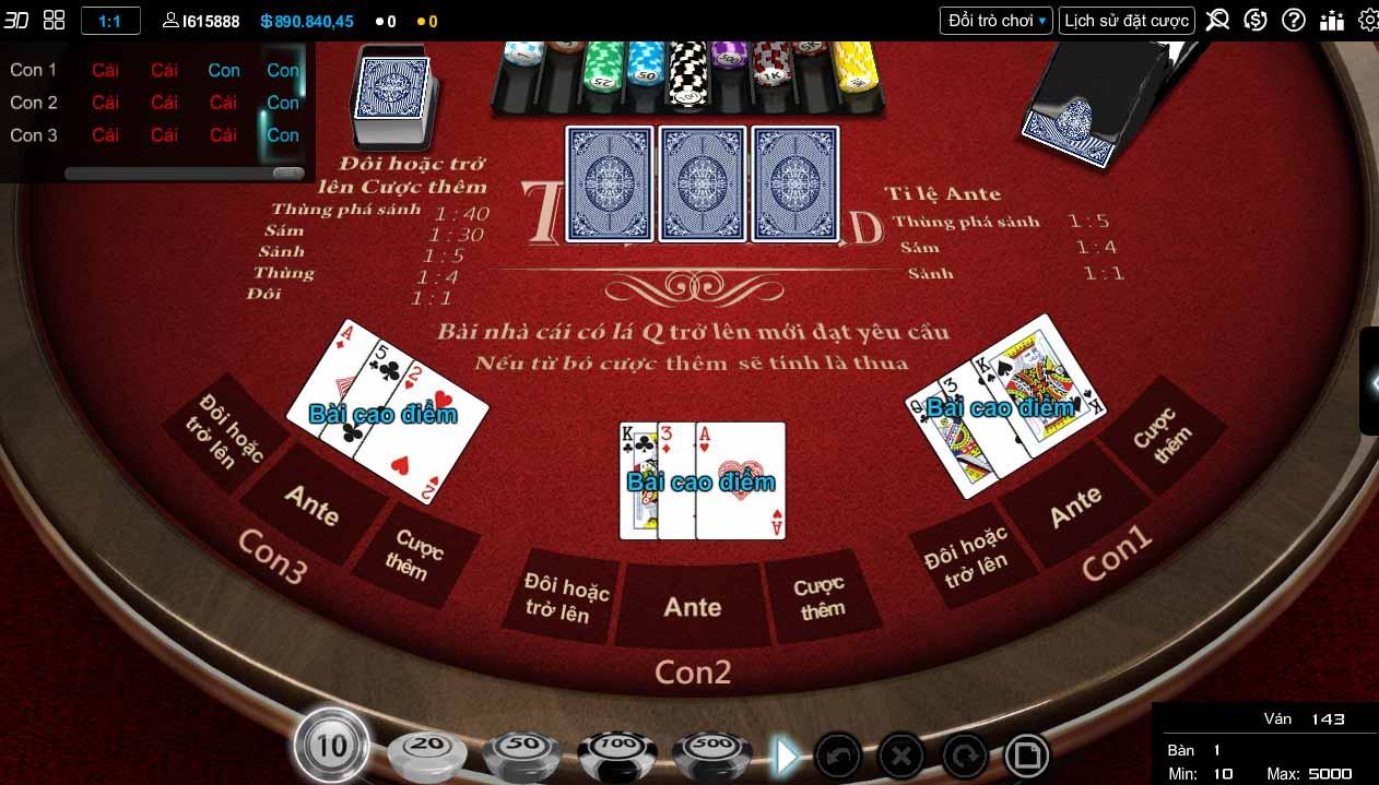 bài poker ku