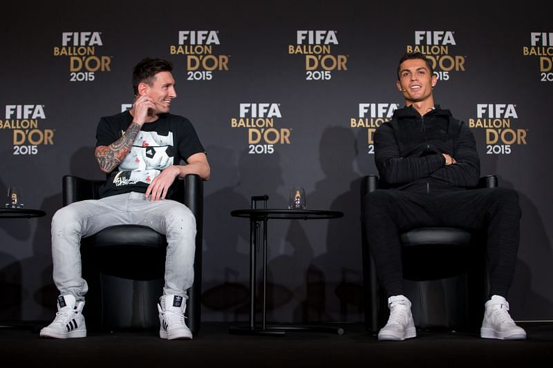 Ronaldo vs Messi top 2