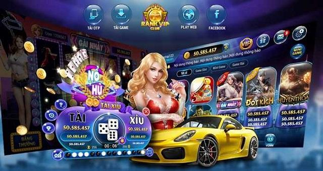 game đánh bài đổi thưởng uy tín Rankvip