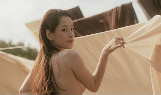 anh khoa than cua chi pu - Chi Pu từng gây sốc với hàng loạt ảnh khỏa thân