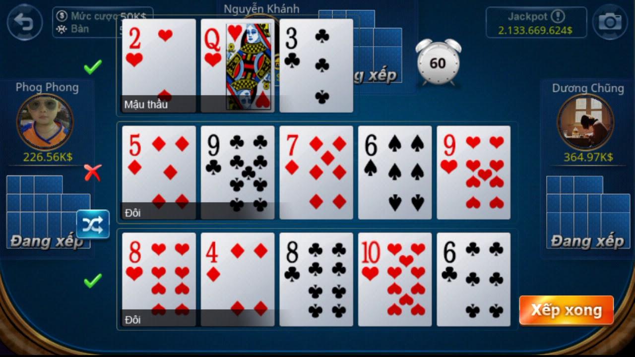 Trò chơi poker được rất nhiều người yêu thích