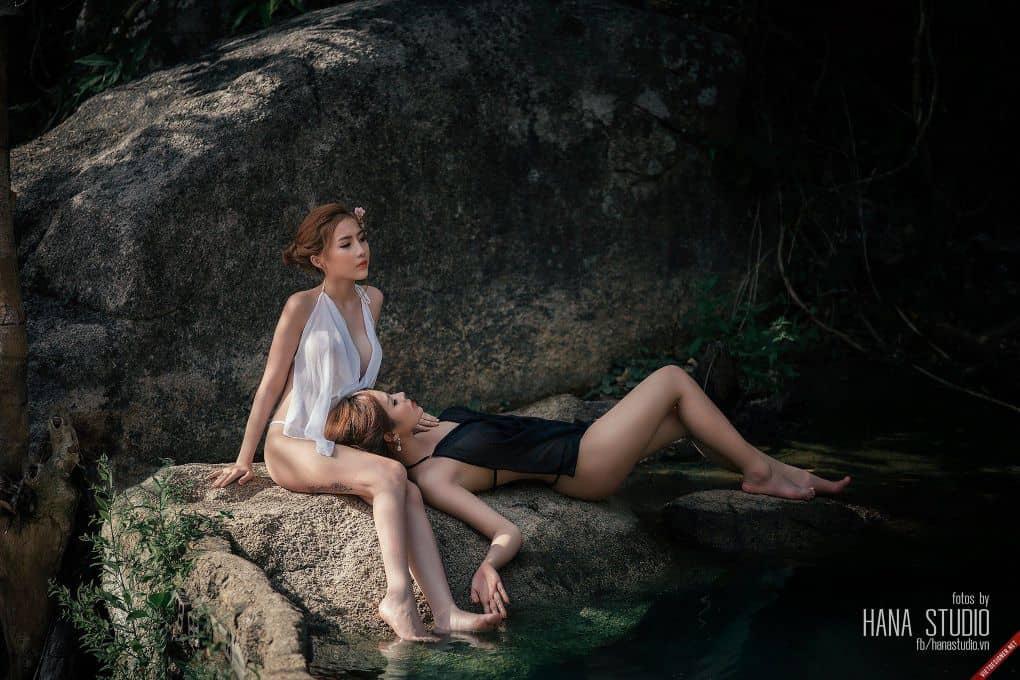 Clip hai Thôn nữ và Lão Hạc vào lò gốm