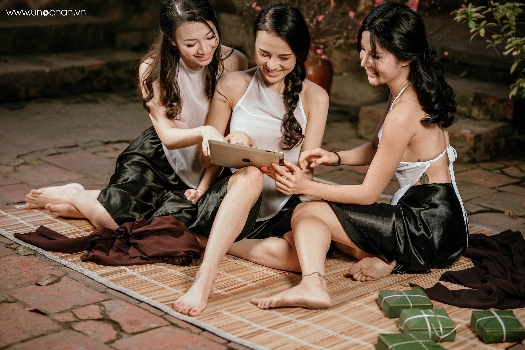 Bánh chưng, Bánh dày : Quỳnh Ruby, Đỗ Nguyệt, Phạm Thúy Ngân