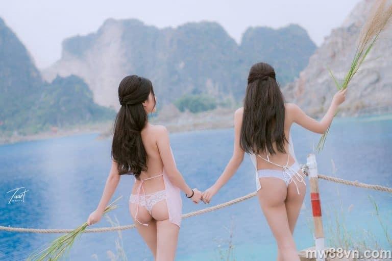 Trọn bộ ảnh Á hậu Thư Dung xuất sắc Tuyệt tình cốc Đà Lạt nóng 100%