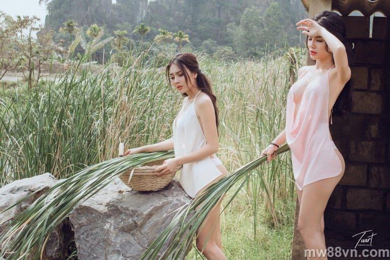 Trọn bộ ảnh nóng 100% của Thư Dung Dalat xuất sắc của Á Hậu