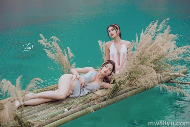 Trọn bộ ảnh Á hậu Thư Dung tuyệt tình Cốc Đà Lạt nóng 100%