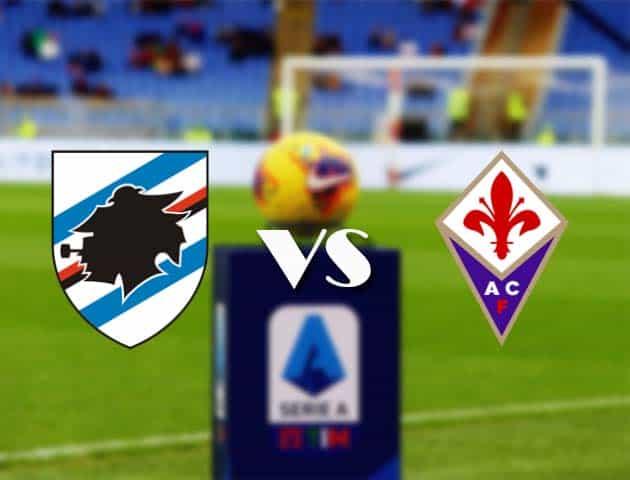 Sampdoria vs Fiorentina-Ý League vào ngày 14 tháng 2 năm 2021 [Serie A]