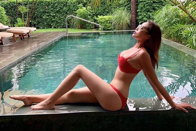 Kỳ Duyên ảnh nude - Cận cảnh thân hình nóng bỏng của Hoa hậu Kỳ Duyên