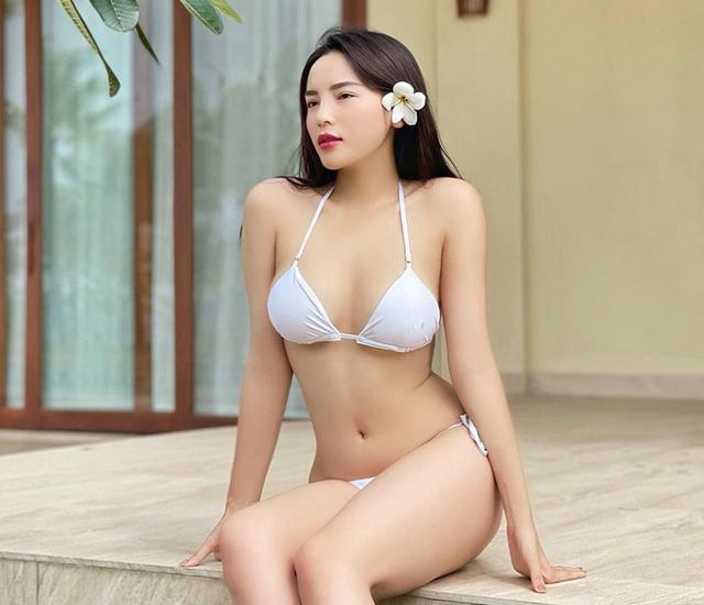 Bộ bikini mới nhất của Á Hậu Kỳ Duyên-tuy toàn bộ bikini thiết kế đều tôn lên vẻ đẹp của nữ hoàng
