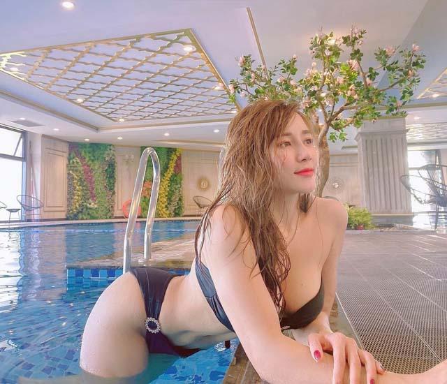 anh bikini cua emily nguyen - Emlily Nguyễn sexy gợi tình khi diện set bikini hở bạo