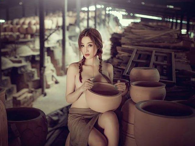 kim le nude lang gom - Đảm bảo sau bộ ảnh này nhiều anh em sẽ yêu thích nghệ thuật gốm sứ của Việt Nam hơn