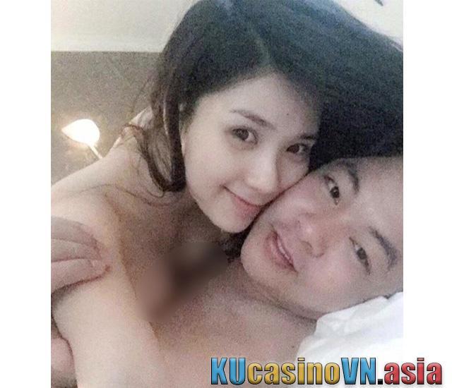 """thanh bi bikini - Bức ảnh """"ân ái"""" giữa Thanh Bi và Quang Lê được chụp lại khi cả hai trần truồng trên giường"""