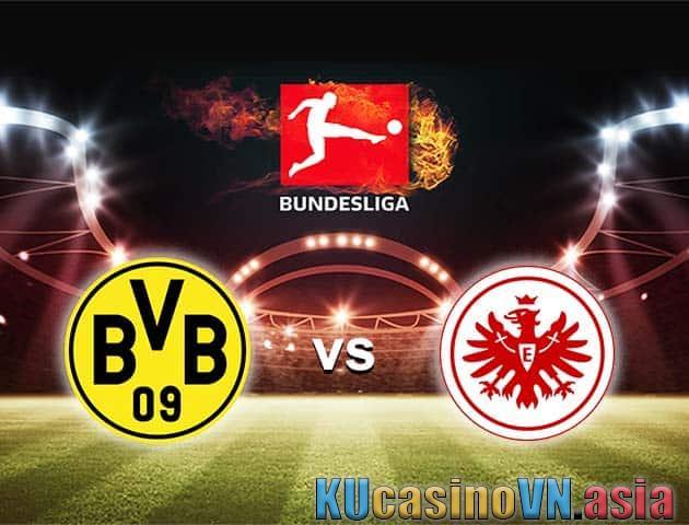 Dortmund vs Eintracht Frankfurt, ngày 3 tháng 4 năm 2021 - Giải VĐQG Đức [Bundesliga]