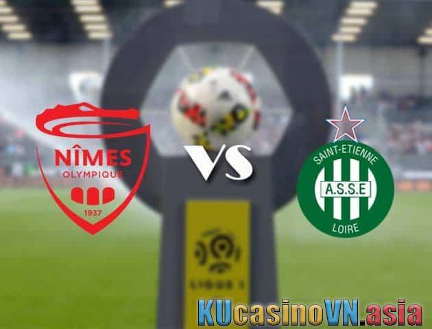 Nimes vs St Etienne, 4/4/2021 - Giải vô địch quốc gia Pháp [Ligue 1]