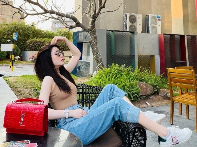 bạn gái tin đồn cầu thủ Quang Hải