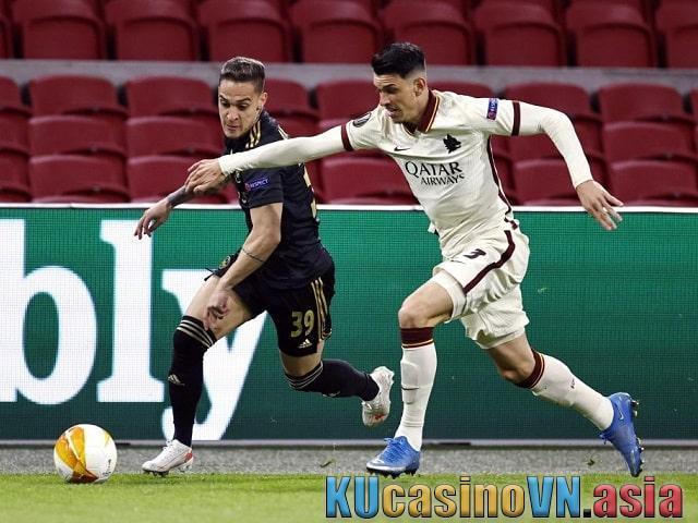 Phân tích trận đấu AS Roma vs Ajax