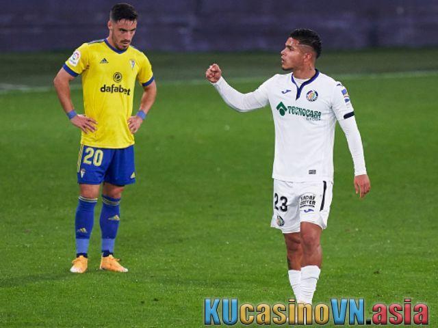 Phân tích trận bóng Getafe vs Cadiz