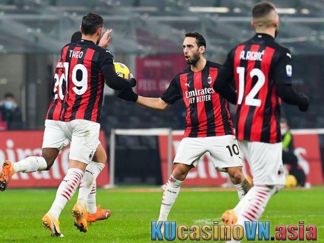 Phân tích trận bóng Parma vs AC Milan