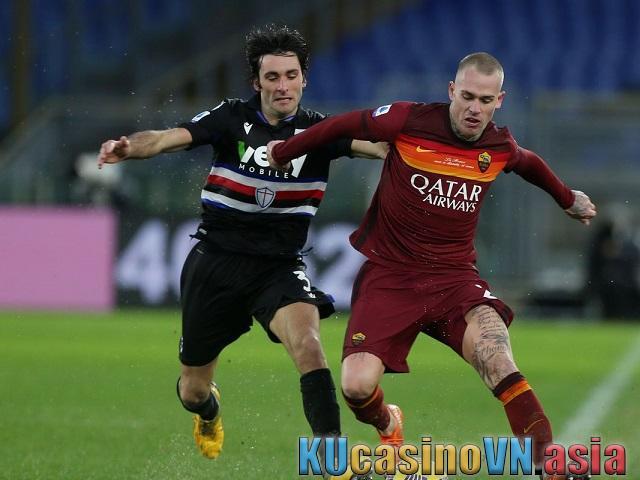 Phân tích trận đấu Sampdoria vs AS Roma