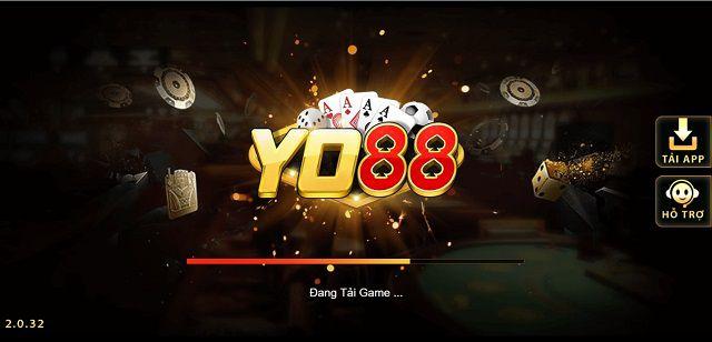 Giao diện cổng game đổi thưởng Yo88