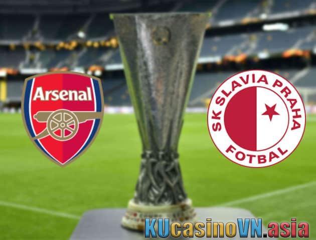 Kèo Arsenal vs Slavia Prague, ngày 09/04/2021 - Europa League
