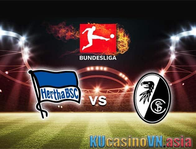 Hertha Berlin vs Freiburg, 21/04/2021 - Giải vô địch quốc gia Đức [Bundesliga]