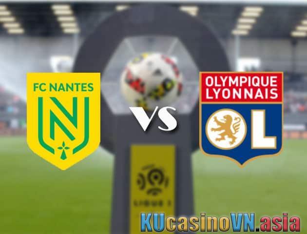 Kèo Nantes vs Lyon, ngày 19 tháng 4 năm 2021 - Giải vô địch quốc gia Pháp [Ligue 1]