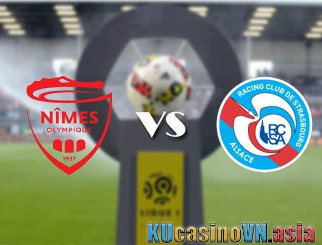 Nimes vs Strasbourg, ngày 18 tháng 4 năm 2021 - Giải vô địch quốc gia Pháp [Ligue 1]