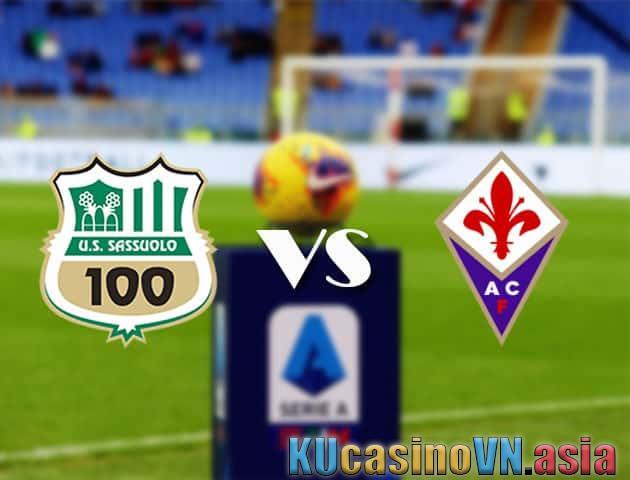 Sassuolo vs Fiorentina, ngày 17 tháng 4 năm 2021 - Giải VĐQG Ý [Serie A]