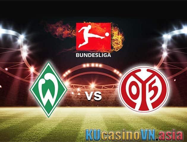 Trận đấu giữa Werder Bremen vs Mainz, 22/04/2021 - VĐQG Đức [Bundesliga]