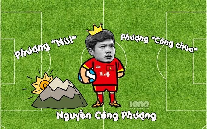 Cầu thủ Nguyễn Công Phượng
