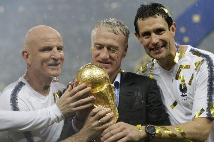 Didier Deschamps và cúp châu Âu