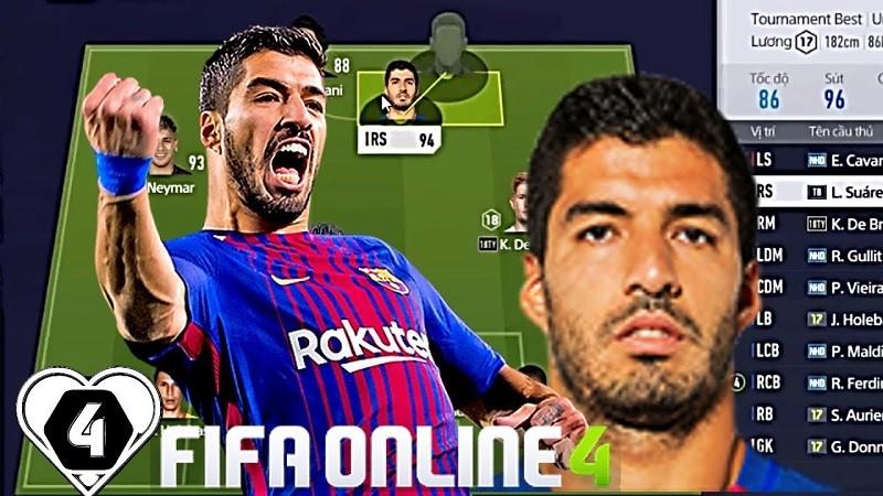 Luis Suarez - một trong những cầu thủ phá bẫy việt vị tốt nhất FO4