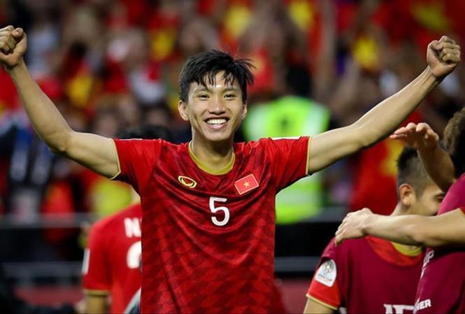 Cầu thủ Đoàn Văn Hậu - Cầu thủ trẻ nhất của đội tuyển Việt Nam