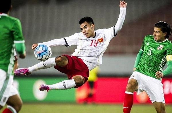 Đức Huy là một cầu thủ tài năng và hiếu thảo của bóng đá Việt Nam
