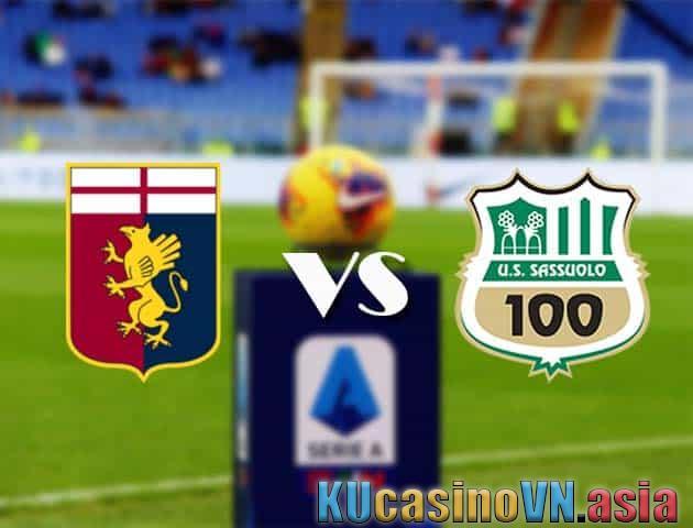 Genoa vs Sassuolo, ngày 9 tháng 5 năm 2021 - Giải VĐQG Italia [Serie A]