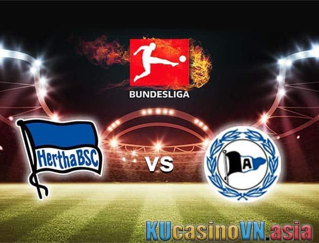 Hertha Berlin vs Arminia Bielefeld, ngày 9 tháng 5 năm 2021 - Giải VĐQG Đức [Bundesliga]