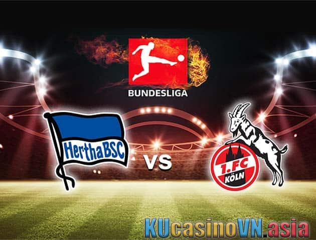 Hertha Berlin vs FC Koln, ngày 15 tháng 5 năm 2021 - Giải vô địch Đức [Bundesliga]